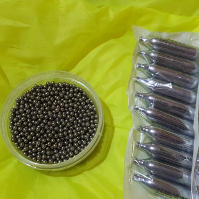 800 bile otel fier metal 6 mm airsoft pt walther p 99 + 10 capsule UMAREX foto