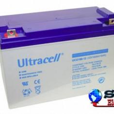 Acumulator plumb acid cu gel Ultracell 12V 100AH