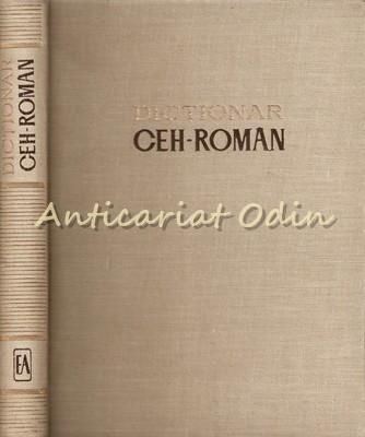 Dictionar Ceh-Roman - Sorin Stati - Editura Academiei foto