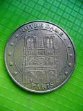 Medalia Notre Dame 2012 Monetaria din Paris Franta- Monnaie de Paris.