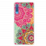 Cumpara ieftin Carcasa Husa Samsung Galaxy A7 2018 Model Oriental Flowers, Antisoc + Folie sticla securizata Samsung Galaxy A7 2018 Tempered Glass Viceversa