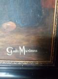 Tablou in ulei Olandeza pictor Greti Munteanu