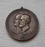 Medalie argint Carol I - 1906 - Expozitia generala romana din Bucuresti