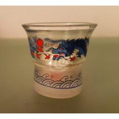 Pahar cu desene asiatice, 5 cm