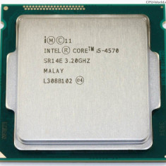 Procesor Intel Core i5 4570, 3.2GHz /Turbo la 3.7GHz, 6MB Cache, Sk 1150,cooler
