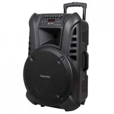 Boxa portabila activa 60w, 2 microfoane uhf, bt,sd, aux