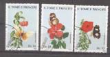 Sao Tome e Principe 1988 Plants, Flowers, Butterflies, used M.261