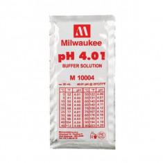 Soluție de calibrare pH 4,01 - pungă de 20 ml