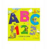 Bebe învață. ABC și 123. Litere și cifre