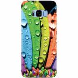 Husa silicon pentru Samsung S8 Plus, Colorful Daisy Petals