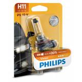 Bec Philips H11 12V 55W Vision +30% 12362PRB1
