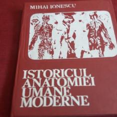 MIHAI IONESCU - ISTORICUL ANATOMIEI UMANE MODERNE