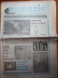 "ziarul magazin 21 decembrie 1992 -""de la capsa la ateneul roman"""
