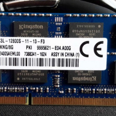 Memorie KINGSTON sodimm 8Gb DDR3 1600MHz  PC3L-12800S, 1.35V - acr16d3ls1kng/8g