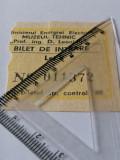 Cumpara ieftin - BILET VECHI - MUZEUL TEHNIC D LEONIDA