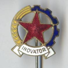 Insigna VECHE 1960 RPR - INOVATOR