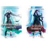 Set de 2 carti Tronul de clestar Editura Rao. Mostenitoarea focului si Regina umbrelor