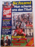 """Revista sport - """"SPORT BILD"""" (Germania) 16.09.1998"""