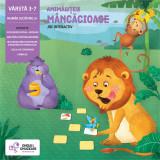 Joc interactiv - Animalutele mancacioase