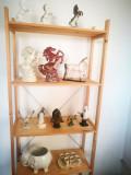 Bibelouri romanesti vechi de sticla: Peste sticla,Fructiera,Statete