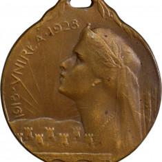 Medalia - 1918-28, 10 ani de la Marea Unire