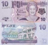 Fiji 10 Dollars 2007 UNC