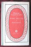 """HANU ANCUTEI * BALTAGUL"", Mihail Sadoveanu, 1987. Seria PATRIMONIU, Alta editura"