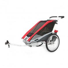 Carucior pentru bicicleta Thule Chariot Cougar1 Rosu