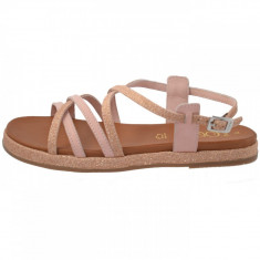 Sandale dama, din piele naturala, s.Oliver, 5-28107-20-J0-15, roz deschis