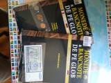 "Monede & bancnote 2 reviste ""Hachette""(10 pesos,2 pfennig,5centavos,10mil.din)"