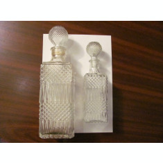GE - Lot 2 sticle pentru bauturi fine / BONUS o sticla identica cu cea mica