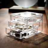 Organizator bijuterii cu 3 sertare
