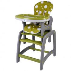 Scaun de masa multifunctional verde Kidscare for Your BabyKids