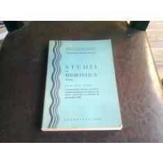 STUDII DE HIDRAULICA - DUMITRU CIOC