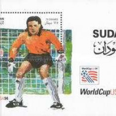 Sudan 1995 - CM fotbal, colita neuzata