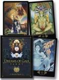 Dreams of Gaia Tarot: A Tarot for New Era-CARTI TAROT ed LUX(aurii),cutie f mare