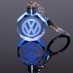 Breloc din cristal cu leduri Volkswagen