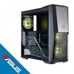 Sistem desktop Prime Gamer TUF Powered by ASUS Intel Core i5-9400F Hexa Core 2.9 GHz 16GB DDR4 nVidia GeForce RTX 2060 TUF GAMING 6GB GDDR6 256GB SSD