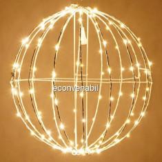 Glob luminos Craciun 240LED 50cm Alb Cald Prelungibil 1001WW CL