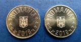 Lot x 2 bucati -  Moneda 50 Bani 2018 UNC + 50 Bani 2019 UNC