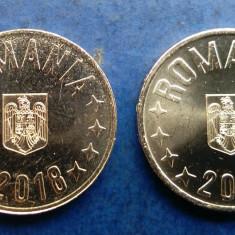 Lot x 2 bucati -  Moneda 50 Bani 2018 UNC + 50 Bani 2019 UNC, Alama