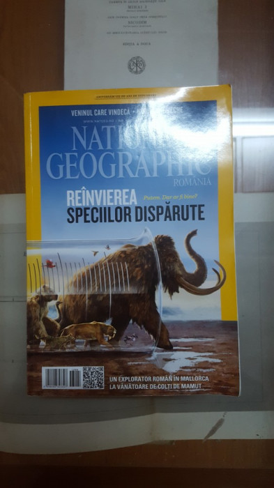 National Geographic, Reînvierea speciilor dispărute, Nr. 120, 2013