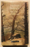 Asa grait-a Zarathustra - Friedrich Nietzsche (editie de lux)