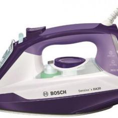 Fier de calcat Bosch Sensixx'x DA30 TDA3026010, Talpa Ceranium-Glissee, 2600W, 0.32l, Mov/Alb