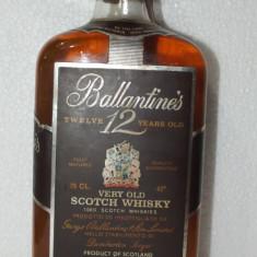 R A R E  whisky  FINEST SCOTCH WHISKY, ballantines, cl 75 gr 43 ani 60