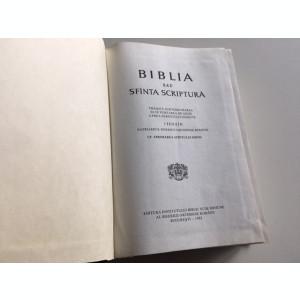 BIBLIA 1982 SUB INDRUMAREA PATRIARHULUI IUSTIN