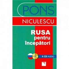 Rusa pentru incepatori + CD audio - Victoria Wildemann