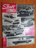 sport si tehnica mai 1972-dacia 1300 special,justin capra,modelism