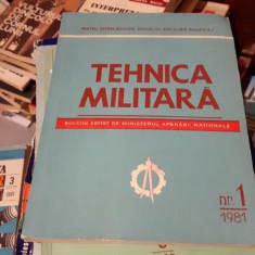 Tehnica militara 1/1981