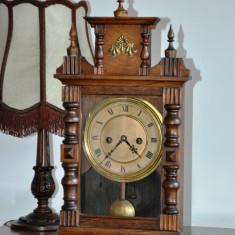Ceas de semineu/birou cu pendul Hamburg